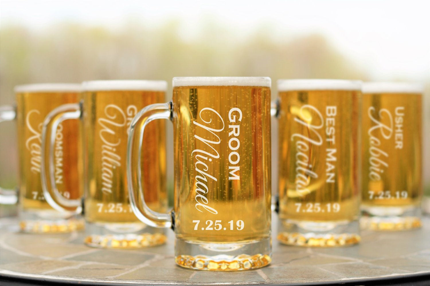 Vertical | 16oz Beer Mug