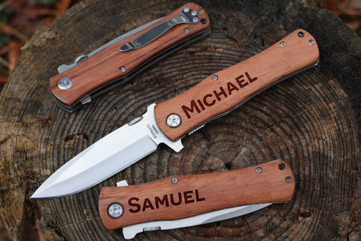 Wide Sans | Rosewood Pocket Knife
