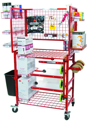 Painters Prep Cart with Masker