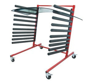 Mobile Glass Rack