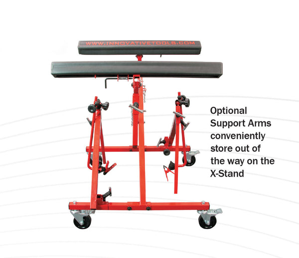 X-Stand Support Arms Option