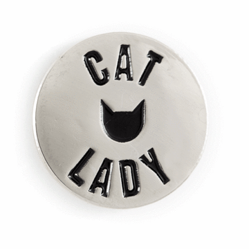These Are Things - Cat Lady Enamel Pin