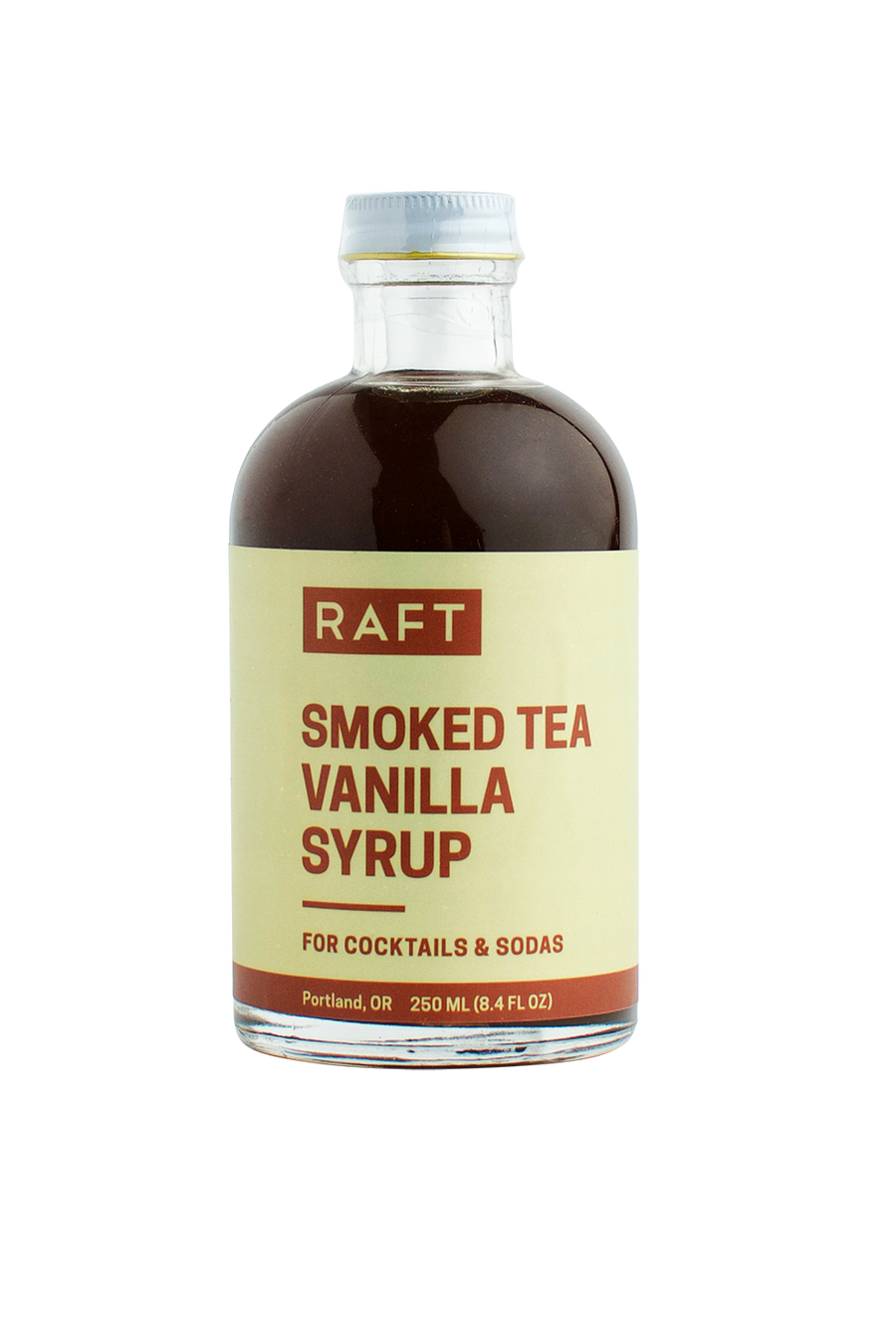 Smoked Tea Vanilla Syrup