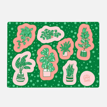 Houseplants Sticker Sheet