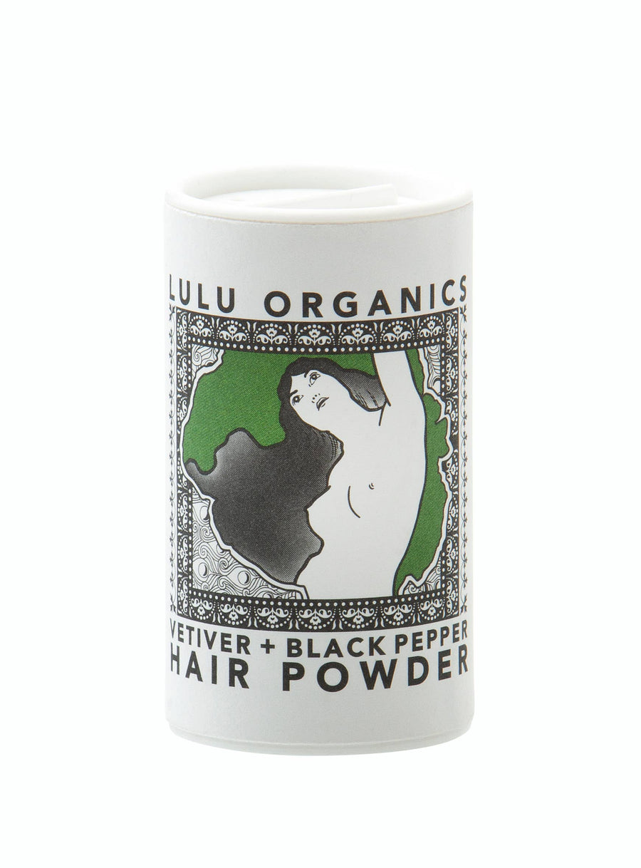 Vetiver and Black Pepper Travel Powder Shampoo