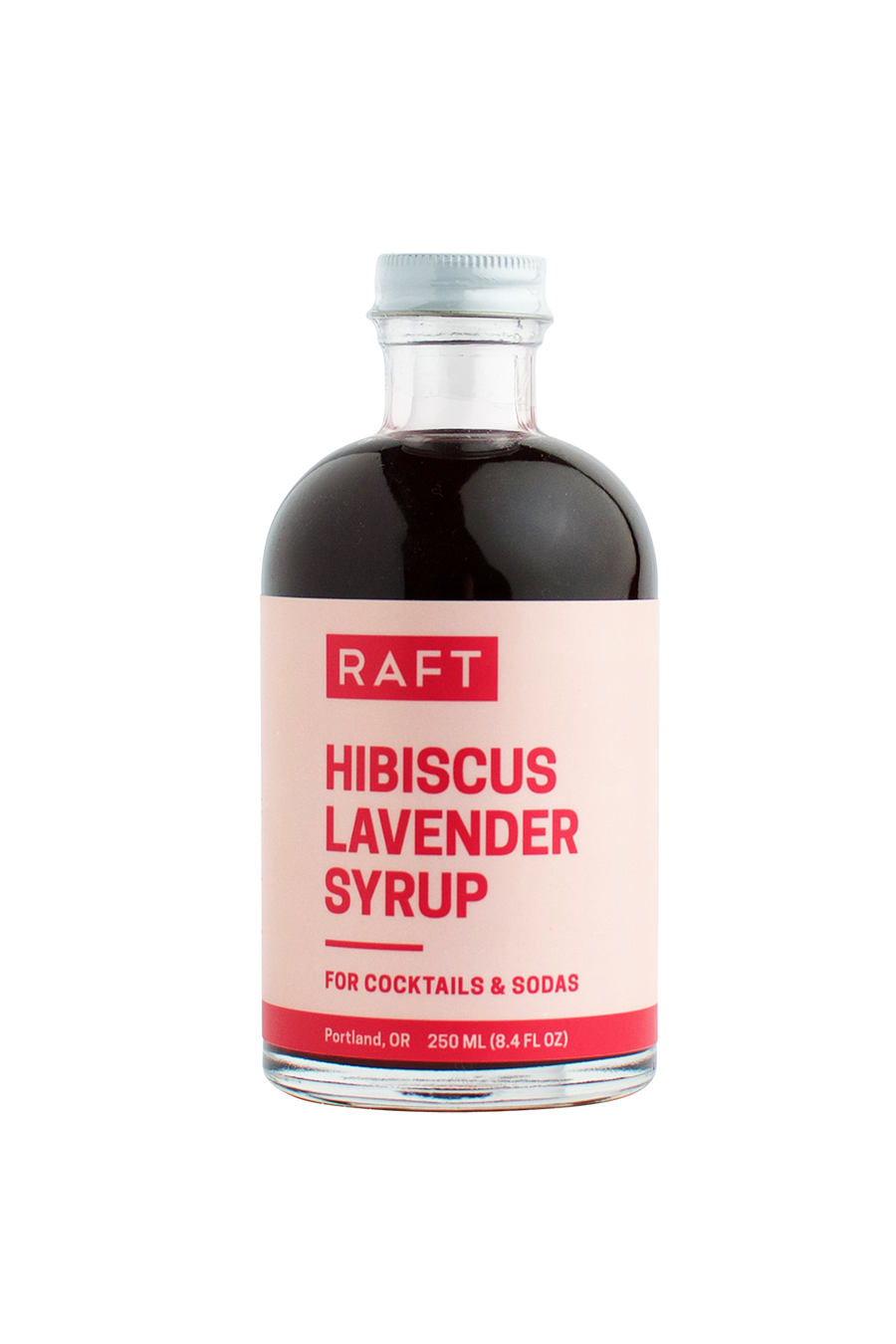 Hibiscus Lavender Syrup
