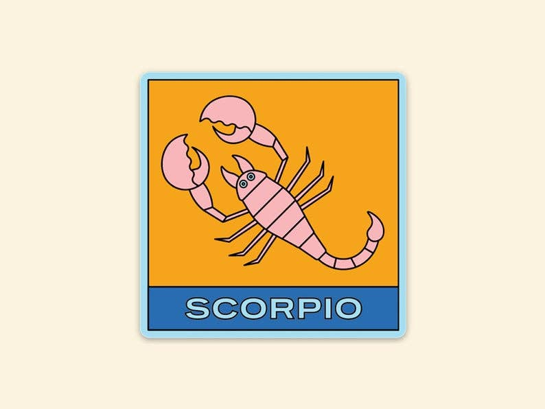 Sticker : Zodiac Scorpio