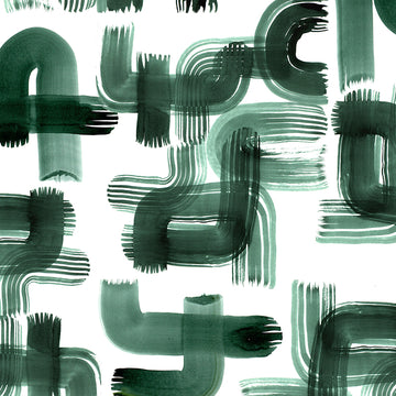 Green Strokes Wrapping Sheet