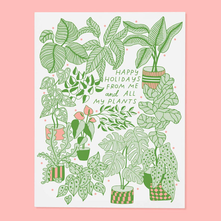 Plants Holiday Card