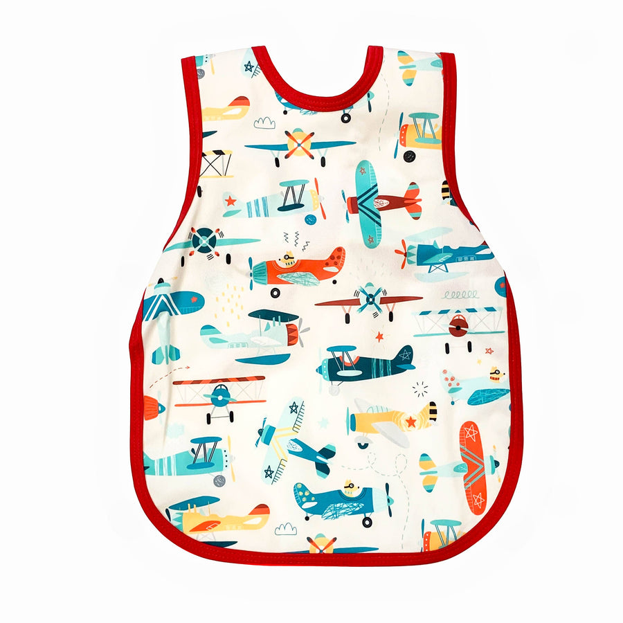 Retro Airplanes Toddler Bapron