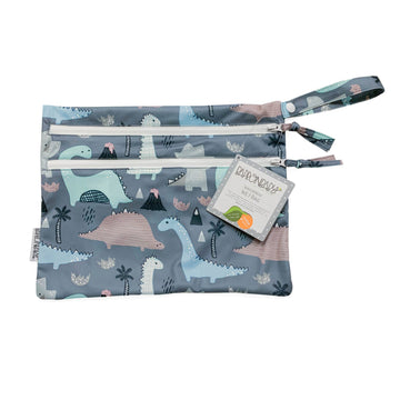 Dinosaur Drawing Waterproof Wet Bag