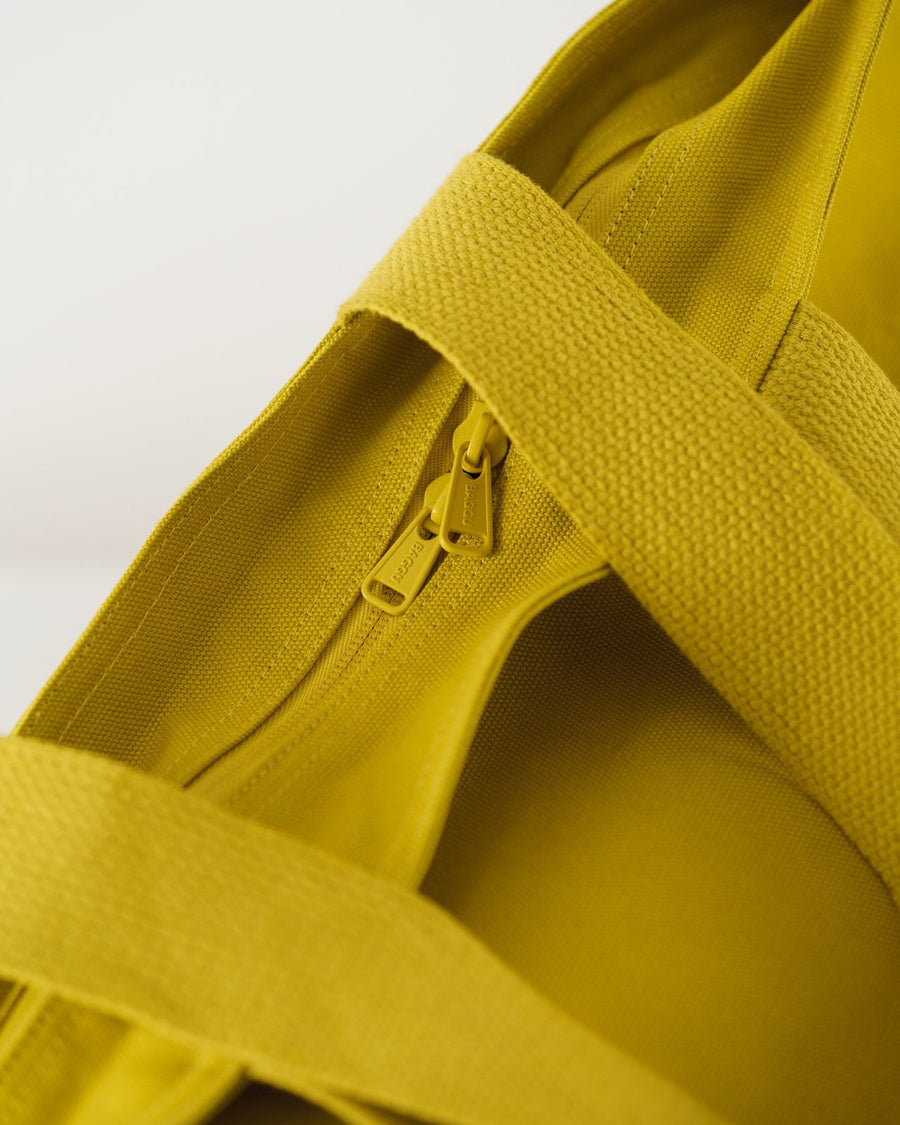 Citron Canvas Tote