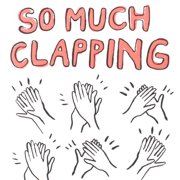 So Much Clapping Card