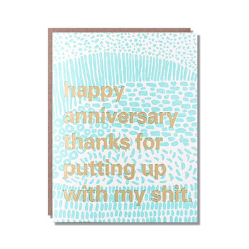 Putting Up Anniversary
