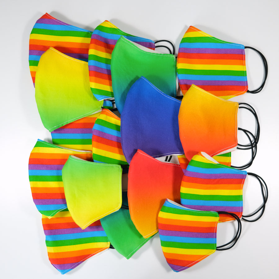 Kids Face Mask Rainbow