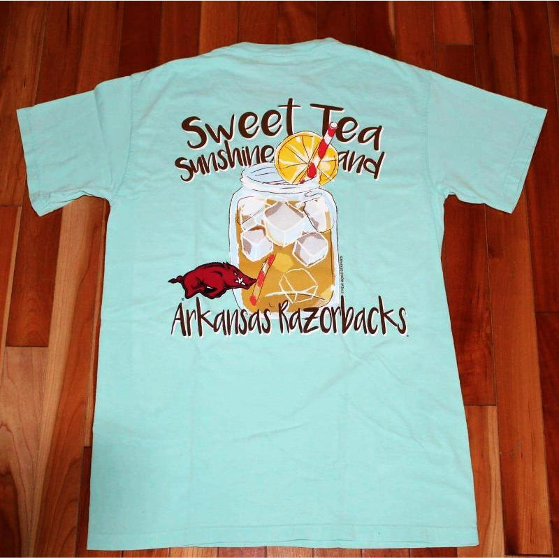 Sweet Tea and Sunshine T-Shirt - Arkansas - Southern Ivy Boutique