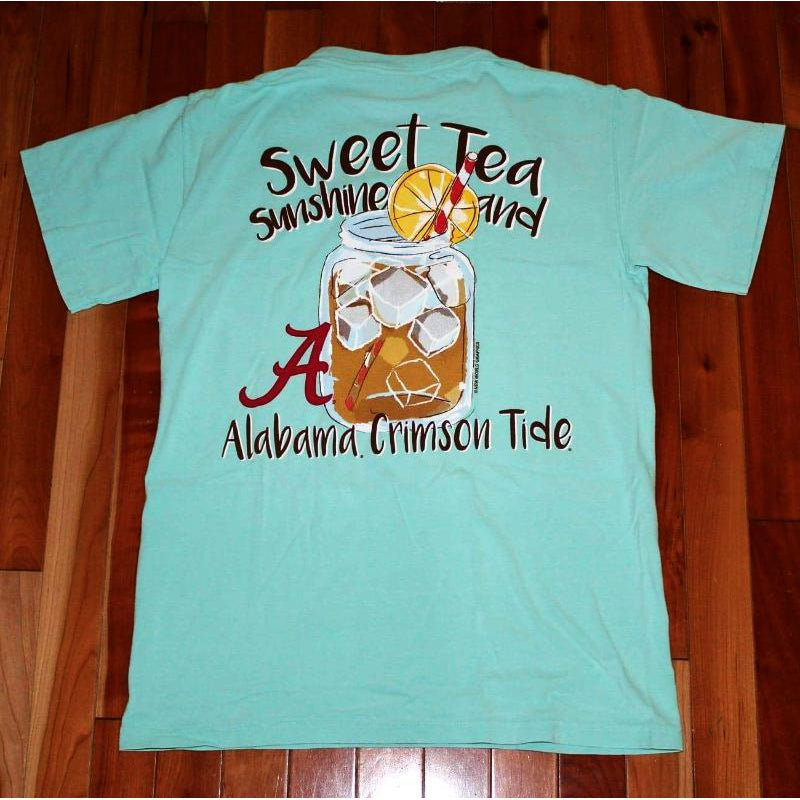 Sweet Tea and Sunshine T-Shirt - Alabama-Southern Ivy Boutique