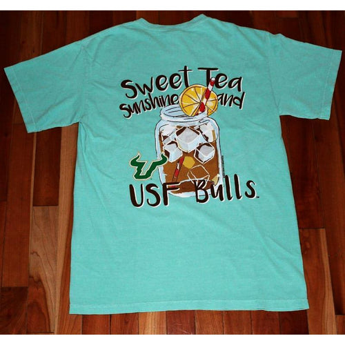 Sweet Tea and Sunshine T-Shirt - South Florida - Southern Ivy Boutique