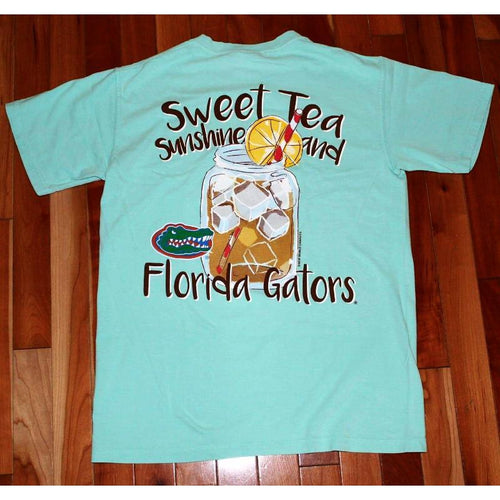 Sweet Tea and Sunshine T-Shirt - Florida-Southern Ivy Boutique