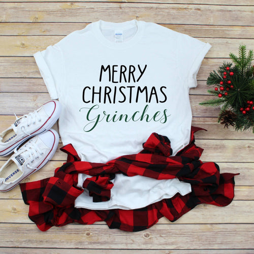Merry Christmas Grinches T-Shirt - Southern Ivy Boutique