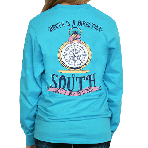 Southern Girl Prep South Is A Lifestyle Long Sleeve T-Shirt - Southern Ivy Boutique