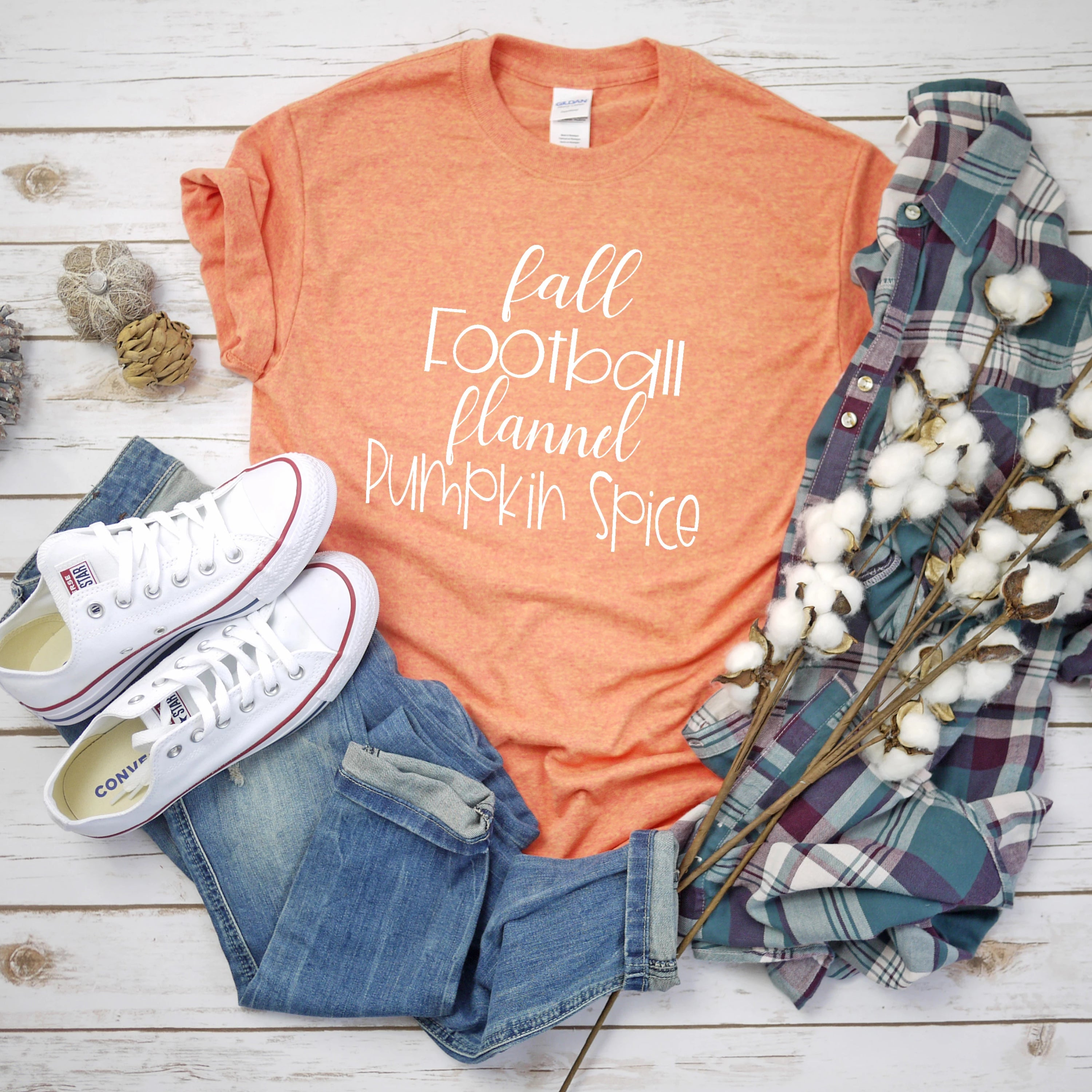 Fall & Pumpkin Spice T-Shirt - Southern Ivy Boutique