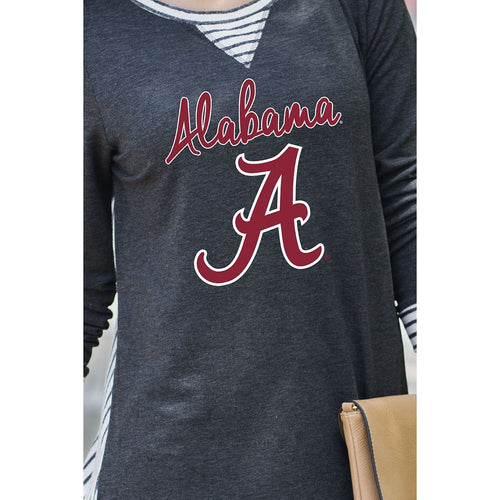 You'll Be Back Striped Tunic - Alabama-Southern Ivy Boutique