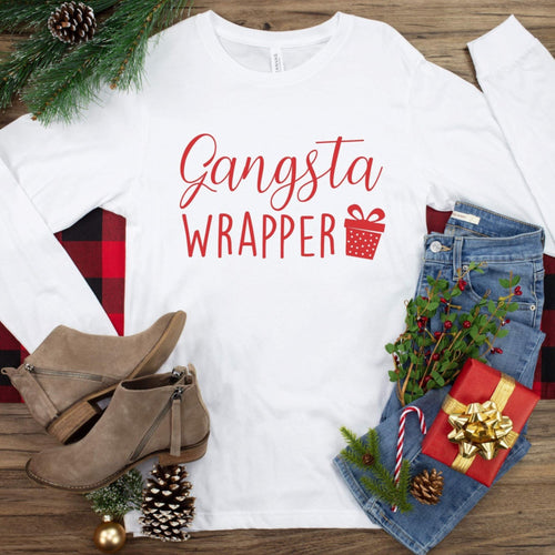 Gangster Wrapper Long Sleeve T-Shirt