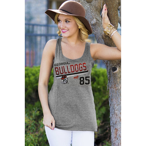 Tailgate Life Racerback Tank - Georgia-Southern Ivy Boutique