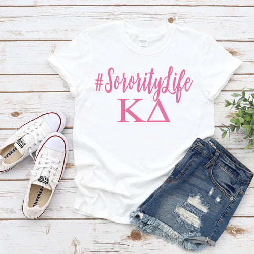 Sorority Life Greek T-Shirt - Southern Ivy Boutique