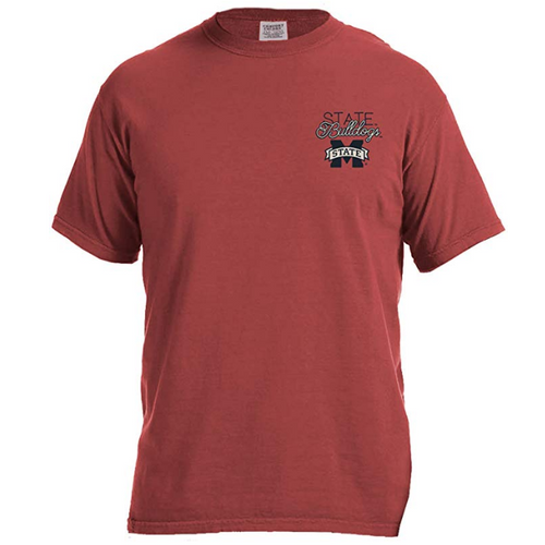 Laces and Bows Collegiate T-Shirt - Mississippi State - Southern Ivy Boutique