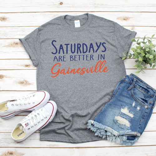 Saturdays In Gainesville Gameday T-Shirt - Southern Ivy Boutique