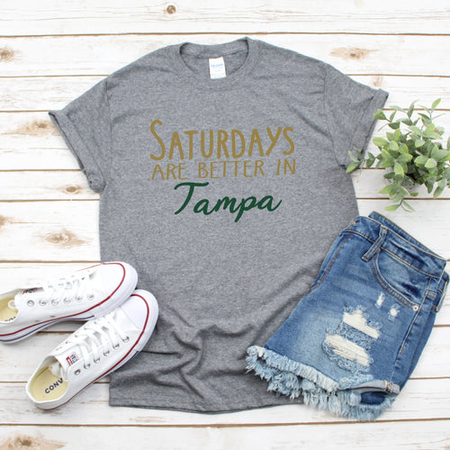 Saturdays In Tampa Gameday T-Shirt - Southern Ivy Boutique