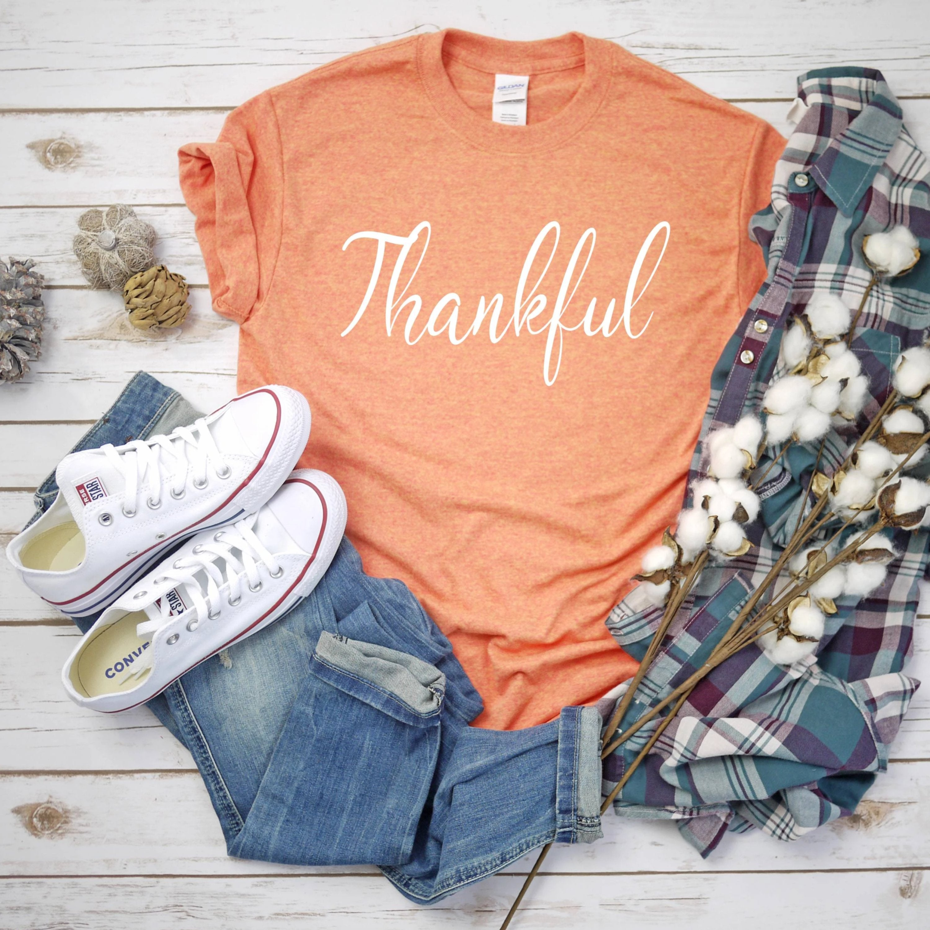 Thankful T-Shirt - Southern Ivy Boutique