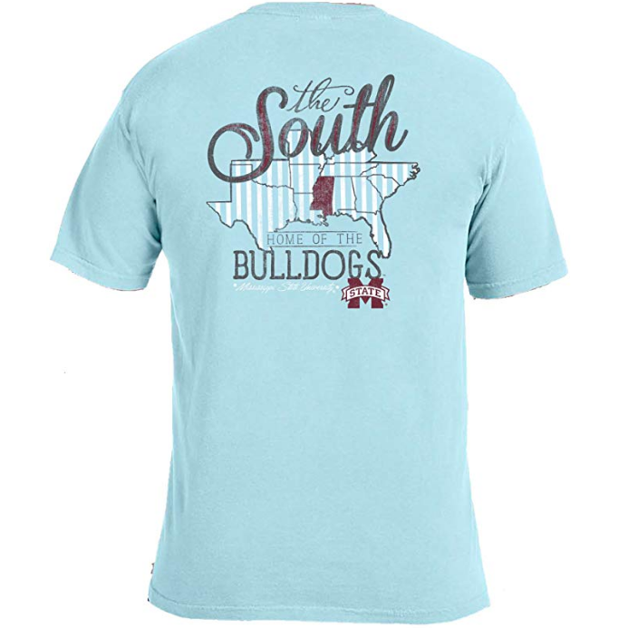 Love the South T-Shirt - Mississippi State-Southern Ivy Boutique