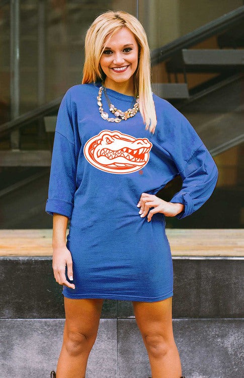 Gameday Couture Scream and Shout Tunic Dress - Florida - Southern Ivy Boutique