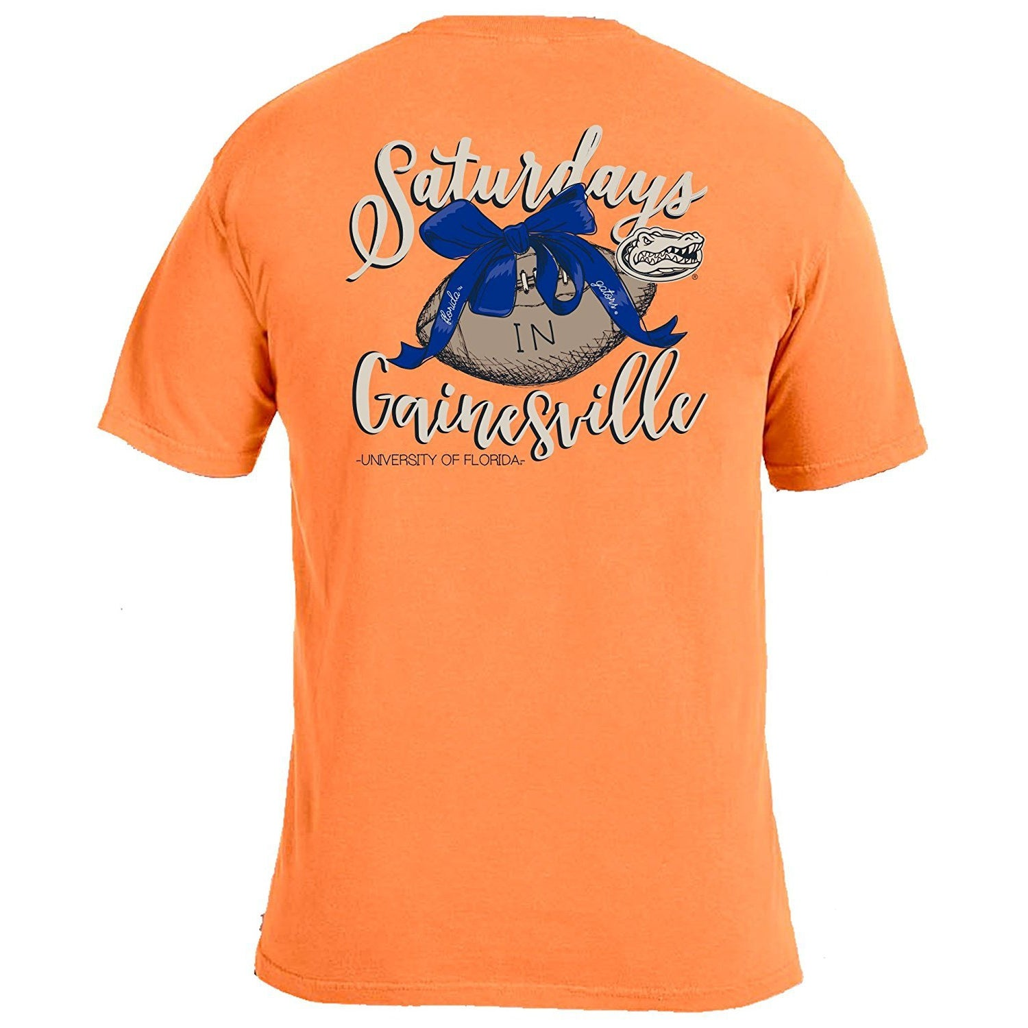 Laces and Bows Collegiate T-Shirt - Florida - Southern Ivy Boutique