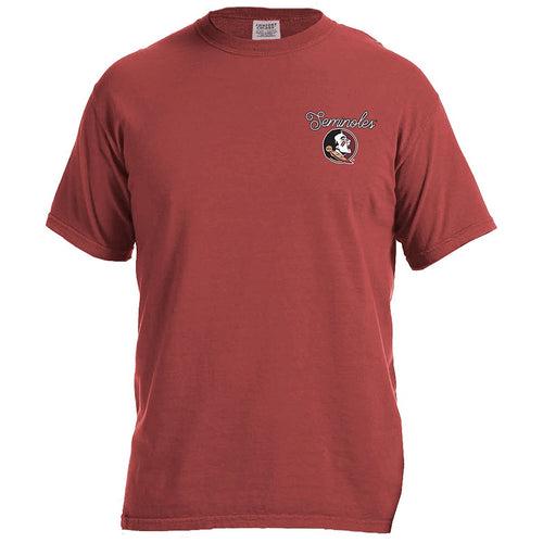 Laces and Bows Collegiate T-Shirt - Florida State - Southern Ivy Boutique