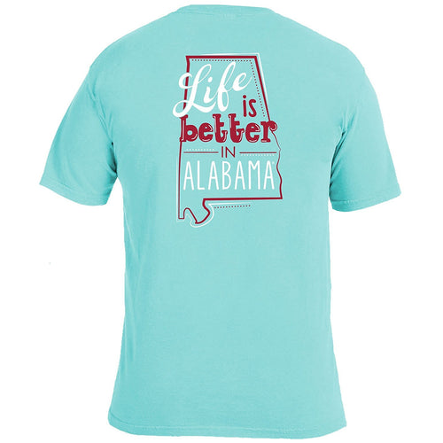 Life Is Better T-Shirt - Alabama-Southern Ivy Boutique