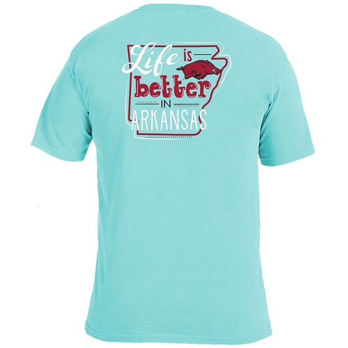 Life Is Better T-Shirt - Arkansas-Southern Ivy Boutique