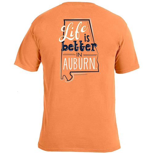 Life Is Better T-Shirt - Auburn-Southern Ivy Boutique