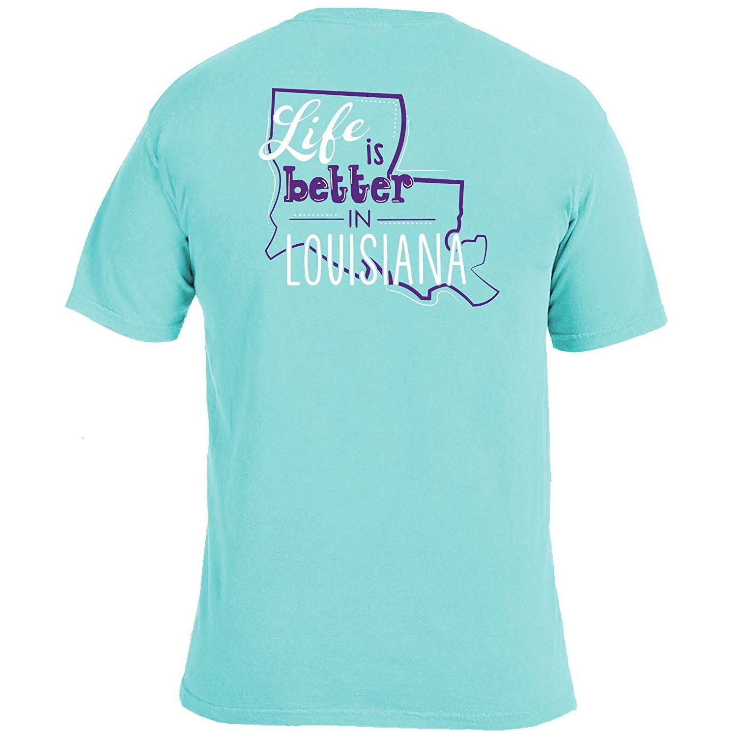 Life Is Better T-Shirt - LSU - Southern Ivy Boutique