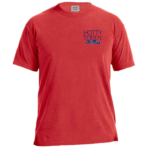 Laces and Bows Collegiate T-Shirt - Ole Miss-Southern Ivy Boutique