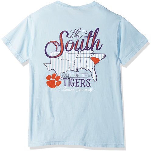 Love the South T-Shirt - Clemson-Southern Ivy Boutique