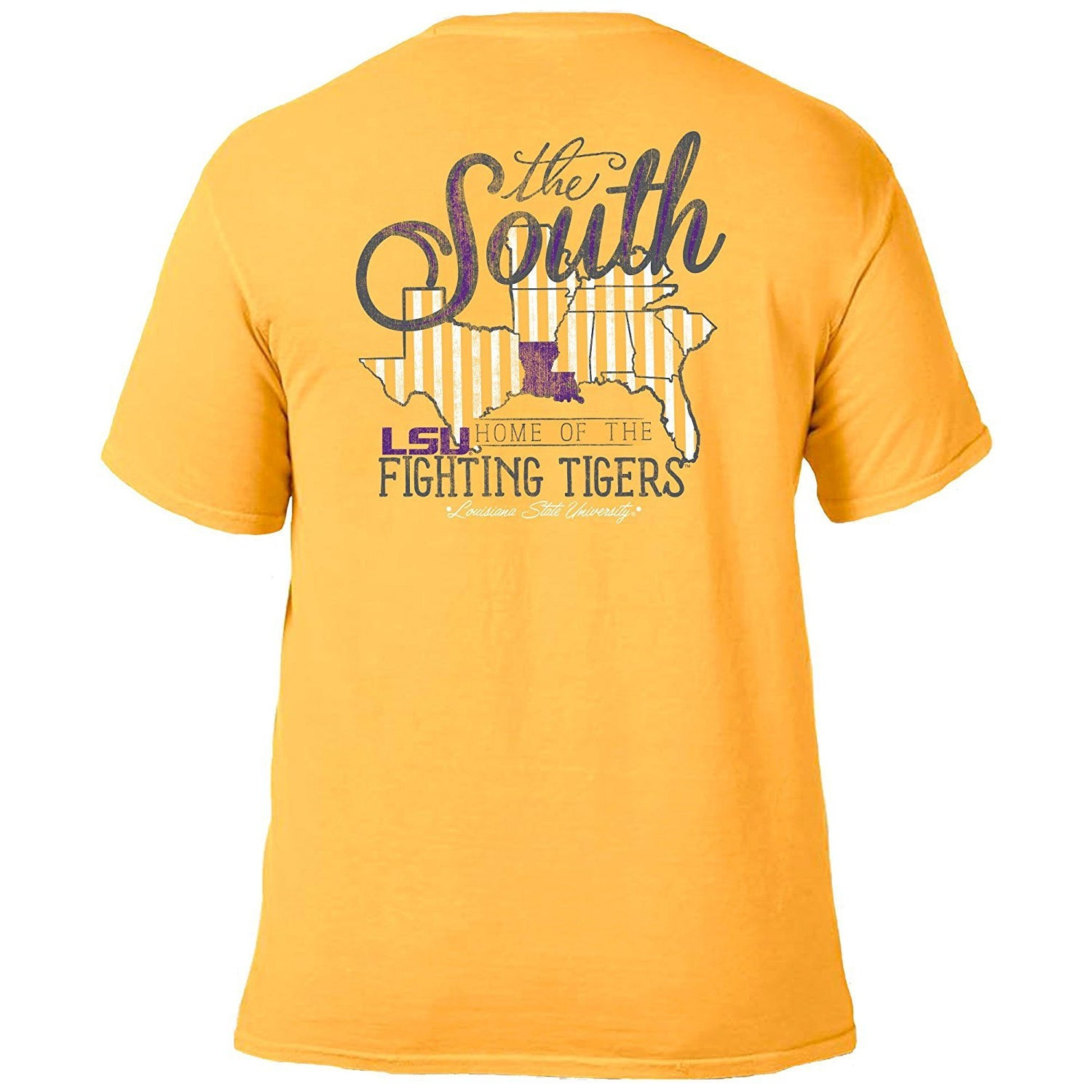 Love the South T-Shirt - LSU-Southern Ivy Boutique