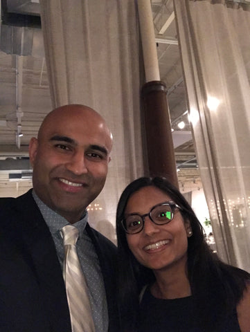 dr. mital patel and husband kit patel
