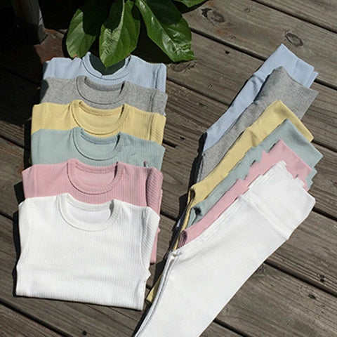 Lined Cotton Set