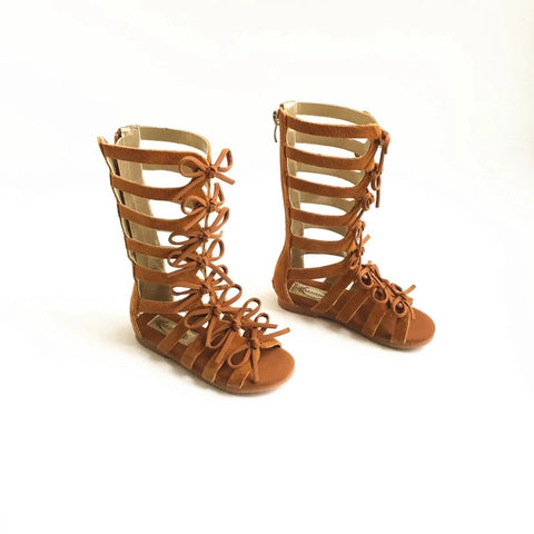 Zip Up Gladiator Sandal