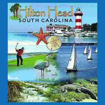 Hilton Head, SC Tote Bag