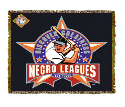 Negro League Baseball Discover Coverlet